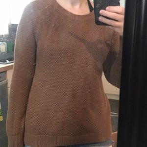 Old Navy VGUC tan brown sweater size small